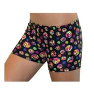 Youth Girls' Gem Gear Printed Athletic Short