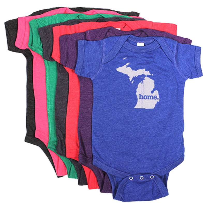 Infant Home State Apparel Home Onsie