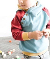 Toddler Ampersand Ave Double Hooded Sweatshirt