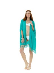 Women's Lagaci Tropical Dream Kimono Swim Cover-Up