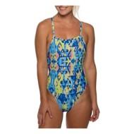 Women's Jolyn Jackson 3 Printed Tie Back Swimsuit