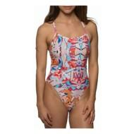 Women's Jolyn Scotty Printed Fixed Back Swimsuit
