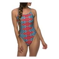 Women's Jolyn Dayno 2 Solid Tie Back Swimsuit