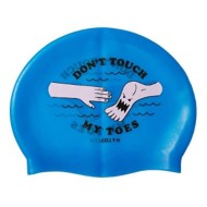 Women's Jolyn Don't Touch My Toes Swim Cap