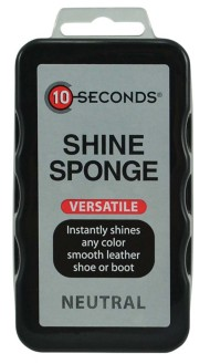Footwear Shine Sponge Neutral Color