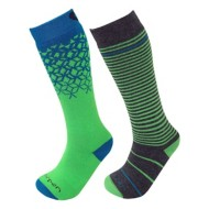 Youth Lorpen Merino Ski Sock - 2 Pack