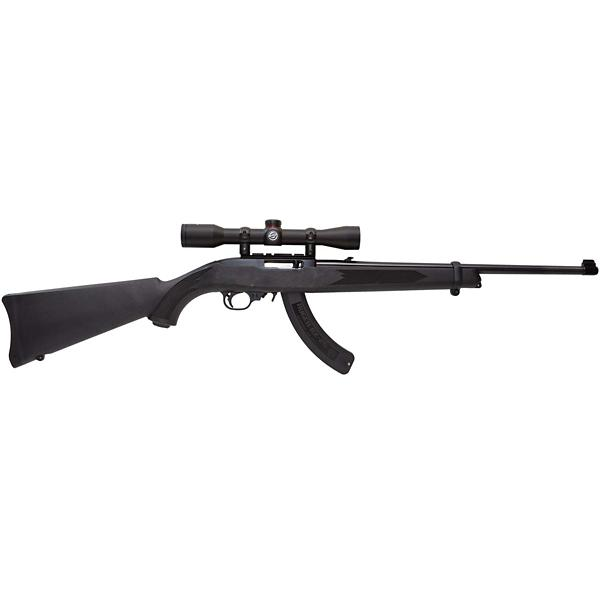Ruger 10/22 Package with 4x32 Scope and 25 Round Magazine