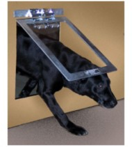 Gun Dog Aluminum Dog Door