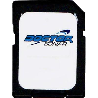 Doctor Sonar Fishing Map SD Card