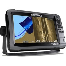 Lowrance HDS-9 Gen 3 with Lake Insights Mapping and LSS Transducer