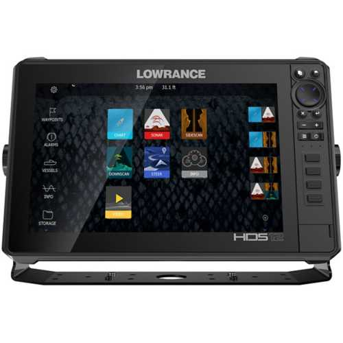 "Lowrance 12"" HDS Live Fishfinder with Active Imaging"