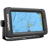 Lowrance Elite-9 Ti² with Preloaded C-MAP US Inland Mapping - No Transducer Model