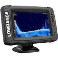 Lowrance Elite-7 Ti² with Preloaded C-MAP US Inland Mapping - No Transducer Model