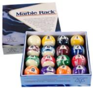 McDermott Cue Elephant Marble Rack Billiards Ball Set
