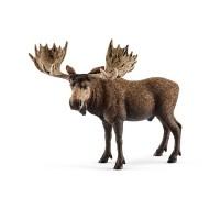 Schleich Moose Bull Figurine
