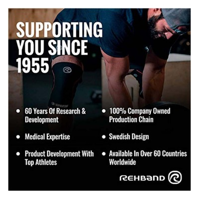 Rehband Spartan Edition Knee Sleeve