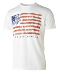 Men's Pima God Bless America Short Sleeve Shirt