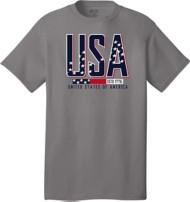 Men's Spectrum Stripes Short Sleeve Shirt