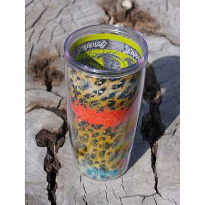 Rainbow Trout Flank Travel Coffee Mug