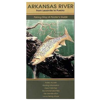 Fishing Map and Guide for Colorado's Arkansas River