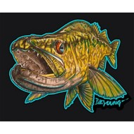 Walleye C utout Decal