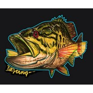 Smallmouth Bass Cutout Decal