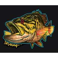 Smallmouth Bass Cutout Decal