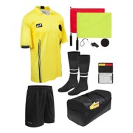 Official Sports 11 Piece USSF Soccer Referee Starter Kit