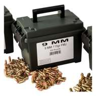 Scheels Outfitters 9mm 115Gr FMJ Ammo Can 500Ct