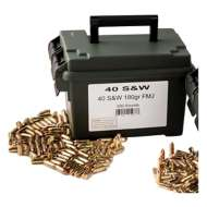 Scheels Outfitters 40SW 180Gr FMJ Ammo Can 500Ct