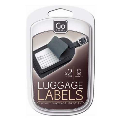 Go Travel Luggage Label