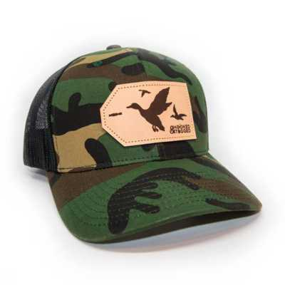 Hooked And Tagged Duck Patch Hat