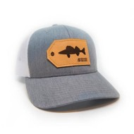 Hooked And Tagged Walleye Patch Hat