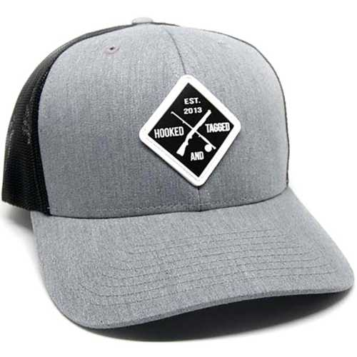 Hooked & Tagged Shotgun & Fly Rod Patch Hat