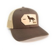 Hooked And Tagged Coyote Patch Hat