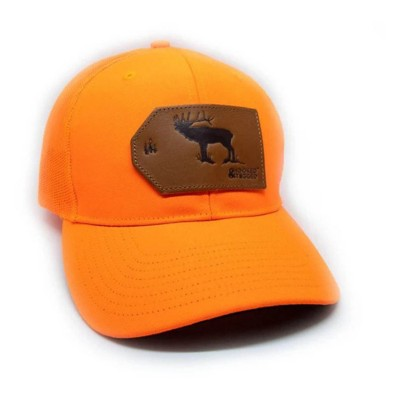 Hooked And Tagged Elk Patch Hat