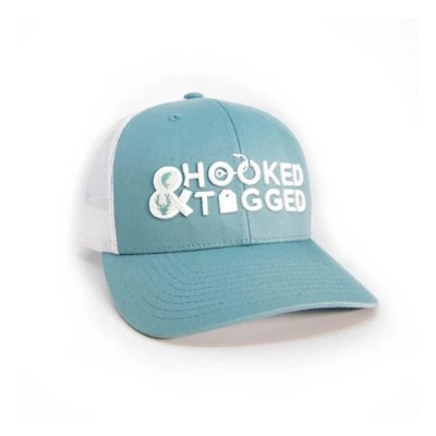 Hooked And Tagged Logo Hat