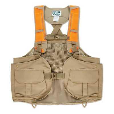 Men's Scheels Outfitters Premium Strap Blaze Orange Upland Vest
