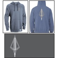 Men's Area Code Art Broadhead Sweatshirt Black Heather