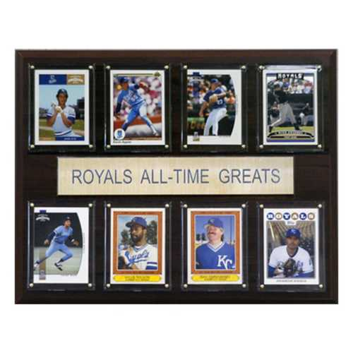 C and I Collectables Kansas City Royals All Time Greats Plaque