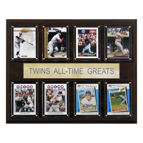 C and I Collectables Minnesota Twins All Time Greats Plaque