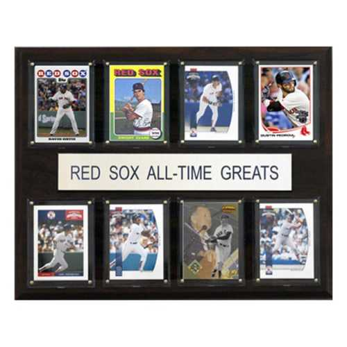 C and I Collectables Boston Red Sox All Time Greats Plaque