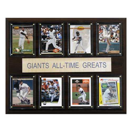 C and I Collectables San Francisco Giants All Time Greats Plaque