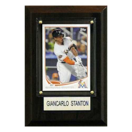 C and I Collectables New York Yankees Giancarlo Stanton 4X6 Plaque