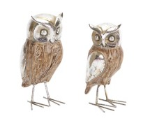 Melrose International Polyresin Owl