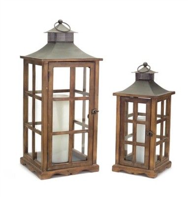 Melrose International Farm Window Lantern