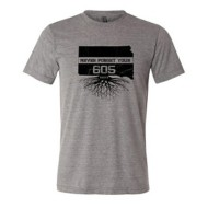 Men's 605 Clothing Company Never Forget Your 605 Roots T-Shirt