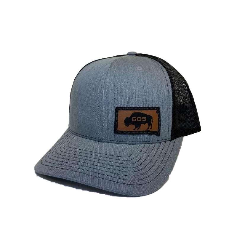 Men's REB Designs South Dakota Small Buffallo Hat