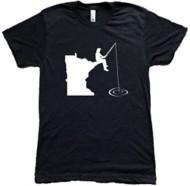 Adult Minnesota Awesome Fishing T-Shirt
