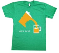 Men's Minnesota Awesome Drink Local MN T-Shirt
